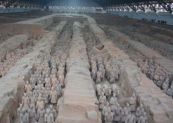 信毎観光りんどうツアー<br>成田空港発 大唐の都 西安 世界遺産めぐり 4日間