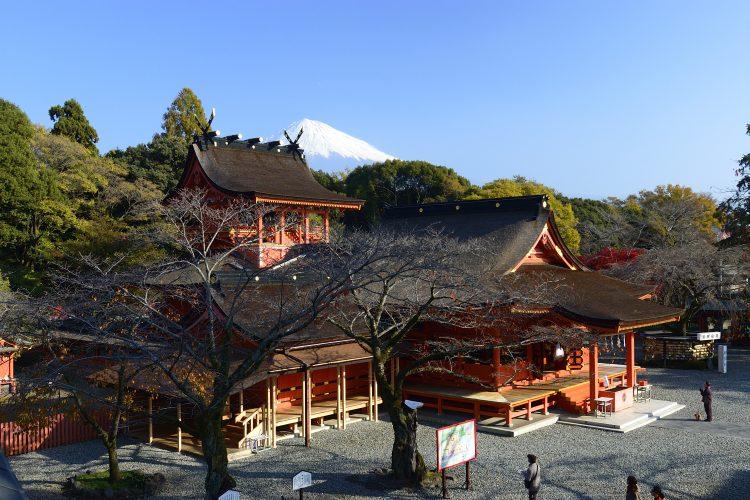 GoToトラベル事業支援対象<br>世界遺産富士山信仰の浅間四社と忍野八海