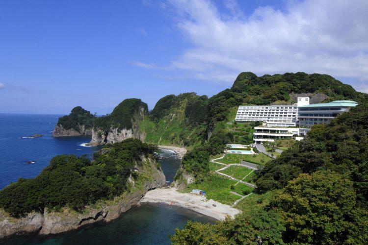 GoToトラベル事業支援対象<br>個人旅行のように過ごす<br> 西伊豆堂ヶ島温泉・ニュー銀水